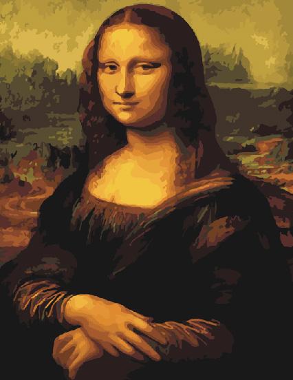 Картина по номерам G 241 Мона Лиза (Да Винчи) 40*50