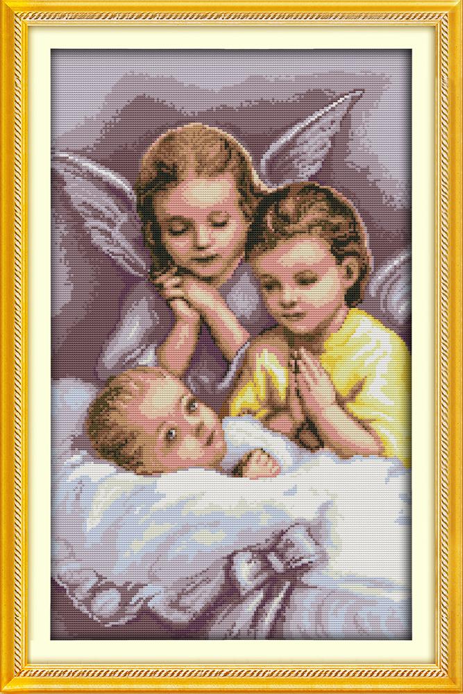 Набор для вышивания R 959 Родные ангелы 36x56